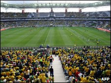 The Mbombela Stadium in Nelspruit, South Africa