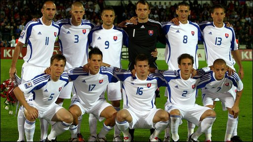 World Cup guide: Slovakia