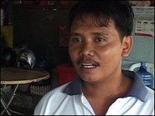 Indonesian businessman Slamet