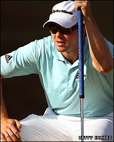 Scottish golfer Martin Laird