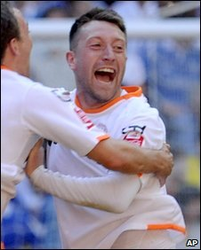 Dobbie came off the bench for the last 30 minutes of Saturday's final