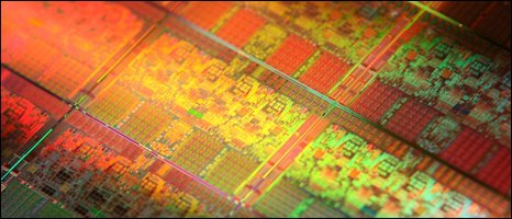 Nehalem wafer, Intel