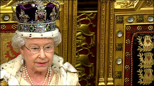 The Queen's Speech on 25 May