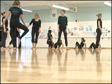 School dance studio