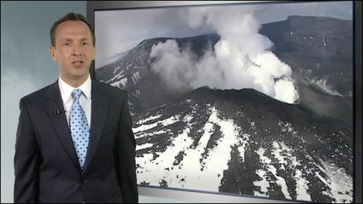 Latest volcanic ash update with Nick Miller