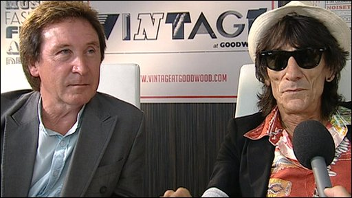 Kenney Jones and Ronnie Wood