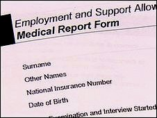 Medical assessment form