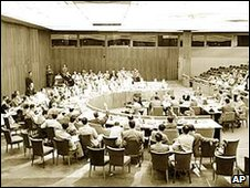 UN Security Council meeting 25 June 1950