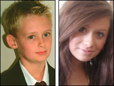 Kieran Goulding and Chloe Walker