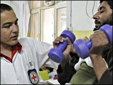 ICRC treatment centre in Kabul