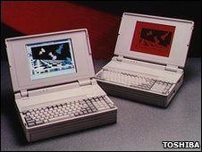 Toshiba laptops from 1993