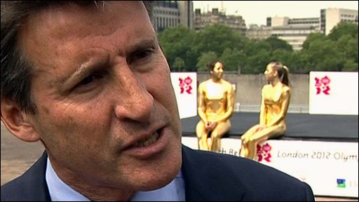 London 2012 Chairman Lord Coe