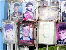 Pictures of missing Kosovan Albanians