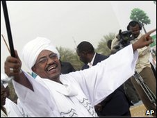 Sudanese President Omar al-Bashir, 1 May 2010