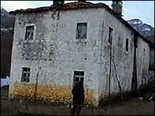 The &quot;Yellow House&quot; in Albania where organs were alleged to have been removed
