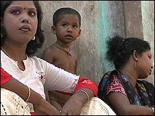 Women inside Tangail brothel