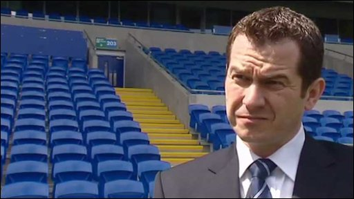 Cardiff City chief executive Gethin Jenkins