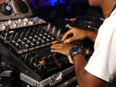 DJ at club