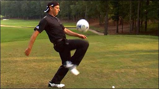 Spanish golfer Sergio Garcia
