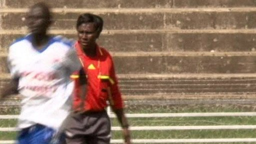 Referee Tabitha Wambui