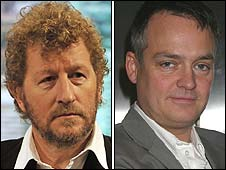 Sebastian Faulks and Charlie Higson