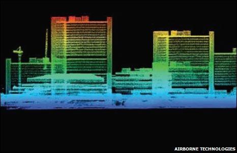 Laser image (Airborne technologies)