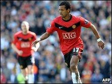 Manchester United's Nani