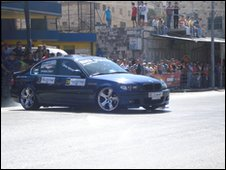 Racing car, Nablus