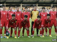 North Korea's national football team