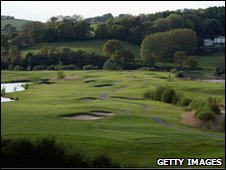 Celtic Manor's 11th hole