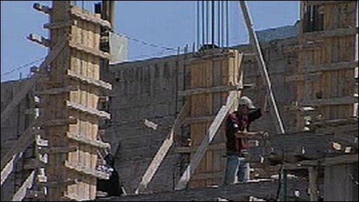 Builder in Syria