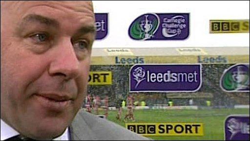 Leeds coach Brian McClennan