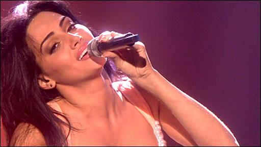 Armenia's Eva Rivas singing Apricot Stone