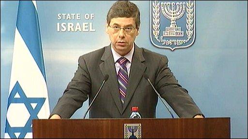 Israeli Deputy Foreign Minister Danny Ayalon
