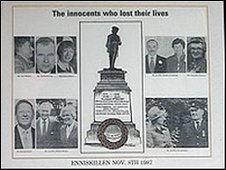 Enniskillen bomb photo montage