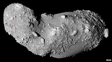 Asteroid Itokawa (Jaxa)