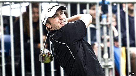 Martin Laird in action at the 2009 Scottish Open