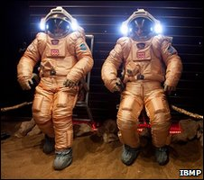 Oraln spacesuits (IBMP)