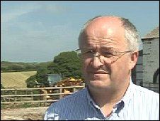 John Davies, leader, Pembrokeshire council