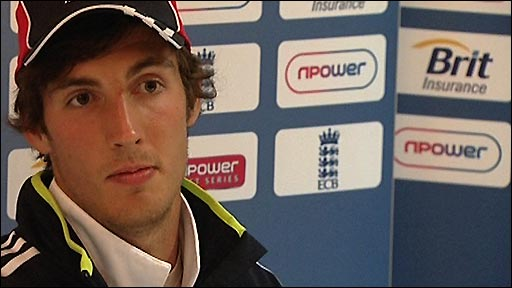 England bowler Steven Finn 