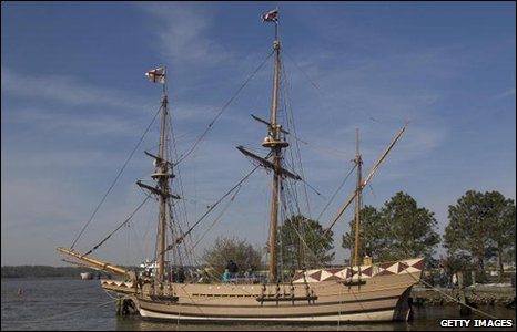 Replica of the ship Susan Constant (Getty)