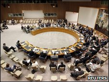 UN Security Council representatives meet