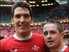 James Hook and Shane Williams