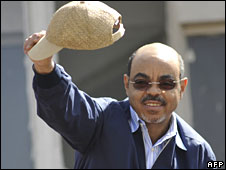 Ethiopian Prime Minister Meles Zenawi