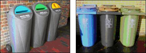 Defra bins (PIC Defra/Carillion)