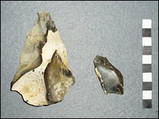 Flint tools (University of Southampton)