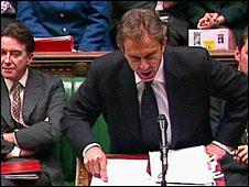 Tony Blair in 2000