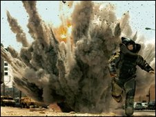 Still from The Hurt Locker