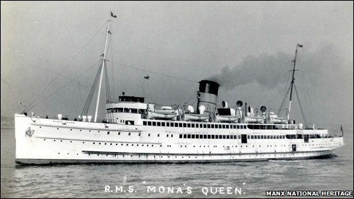 Mona's Queen courtesy Manx National Heritage