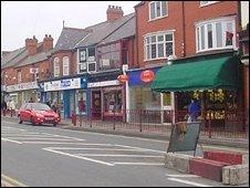 Shotton town centre